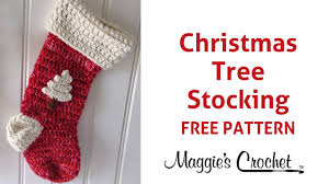 Crochet Stocking Pattern Beauteous Christmas Stocking Free Crochet Pattern Right Handed YouTube