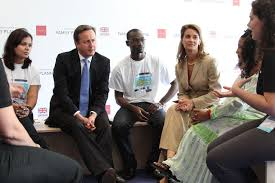 File:Prime Minister David Cameron and Melinda Gates talk about family  planning issues and volunteering with young people at the London Summit on  Family Planning (7555052848).jpg - Wikimedia Commons