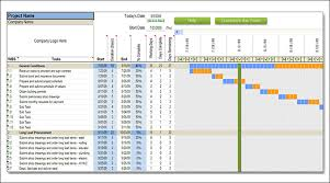 Microsoft Project Construction Scheduling Template Construction Schedule Template Excel Free Download Download A Sample