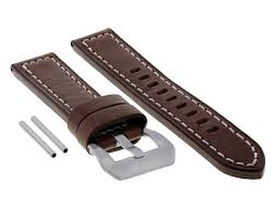 details about 20mm premium leather watch band strap for zenith pilot type d brown ws 10