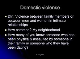 Ppt Domestic Violence Powerpoint Presentation Id 1296855