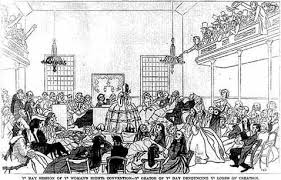exploring u s history women and equality currier and ives cartoon