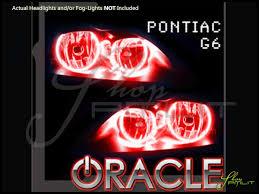 Pontiac G6 Light Bulb Oracle 05 10 Pontiac G6 Led Halo Rings Headlights Bulbs