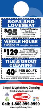 Cleaning Door Hangers #C0006 (BACK VIEW)