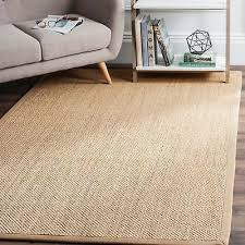 safavieh casual natural fiber natural maize ivory linen sisal area rug 2 x