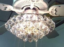 crystal chandelier ceiling fan ceiling fan with crystal chandelier light kit