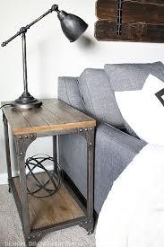 diy industrial furniture. Cheap Diy Industrial Decor Side Table Ideas Black S On Office Images Desks Furniture