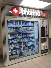 Otc Vending Machines Delectable This Vending Machine Is A Mini Pharmacy Mildlyinteresting