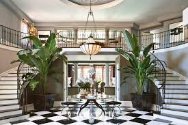 Tour Kris Jenner    s California Mansion   InStyle com   The Entryway