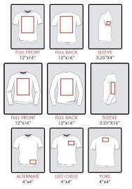 Iron On Transfer Size Guide Cricut Silhouette Cameo