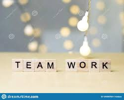 Team Teamwork Motivational Words Quotes Concept Stock Image Image