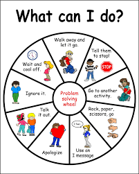 Pinwheel To Remind About Strategies For Dealing With