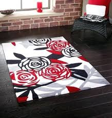 black white and red rug permanent link to black white and red rugs color combination the