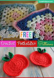 Free Crochet Potholder Patterns Best 48 Free Crochet Potholder Patterns Guide Patterns