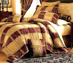 country patchwork quilts for quilts patchwork quilt sets 7 piece burdy jewel patchwork comforter set
