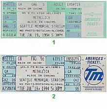 Metallica Seattle Seating Chart Metallica Melbourne Tickets Marvel Stadium 24 Oct 2019
