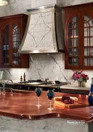 copper counter tops copper countertops