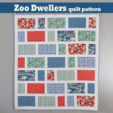 571 best Quilting patterns, tips and tutorials images on Pinterest ... & Free quilt pattern from A Bright Corner called Zoo Dwellers Adamdwight.com