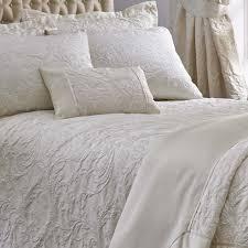 spencer luxury woven jacquard cream duvet covers