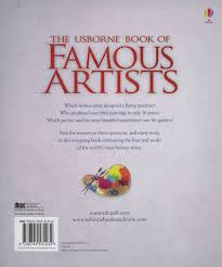 the usborne book of famous artists ruth brocklehurst 9780794531232 book com