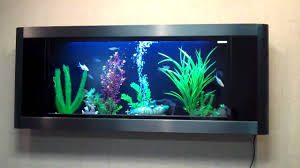 Aquavista Panoramic Wall Mounted Aquariums - YouTube