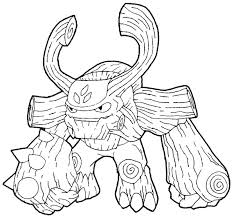 Skylanders Colouring Pages Giant Coloring Pages Giants Logo Free
