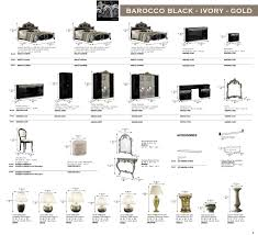 Italian furniture names Modern Barocco Italian Bed Room Set Latraverseeco Barocco Italian Bed Room Set Queenstyle Furniture Ltd