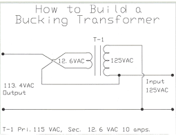 how to wire a buck transformer page 2 diyaudio click the image to open in full size