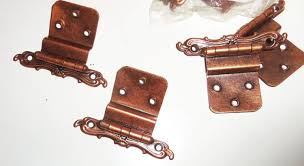 Vintage cabinet hinges Different Style Cabinet Vintage Cabinet Door Hinges Nos Aged Copper French By Avaricia Antique Cabinet Hinges Ebay Olde Good Things Vintage Cabinet Door Hinges Nos Aged Copper French By Avaricia