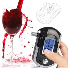 Professional Mini Police Digital <b>LCD Screen Breath Alkohol Alcohol</b> ...