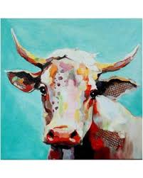 molly cow whimsical animals canvas wall art multi medium on whimsical wall art on canvas with here s a great price on molly cow whimsical animals canvas wall art