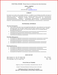 Resume Executive Su Resume Summary Statement Examples As Great