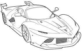 Ferrari Fxx Coloring Page Page 1 Line 17qq Com