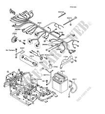 kawasaki mule 1000 electrical schematic wiring diagram completed