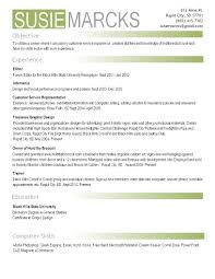 Resume Template How To Create Professional Using Microsoft Word