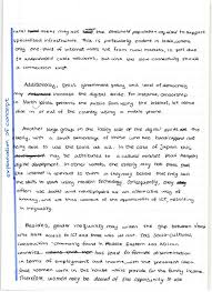 geography hl how to write the mark essay the geography study annotated digital divide essay part 2