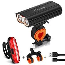 Super Bright 3 LED 3000 Lumen <b>Bicycle Lights</b> Waterproof 3 Light ...
