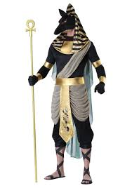 men s anubis plus size costume