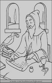 St Francis Of Assisi Coloring Pages The Big Christian Family A L