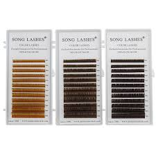 <b>SONG LASHES</b> High Quality <b>Eyelash</b> Extensions <b>False lashes</b> 12 ...
