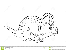 Small Picture Triceratops Coloring Page Triceratops Coloring Page A Free