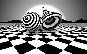2880x1800 Black White Optical Illusion ...
