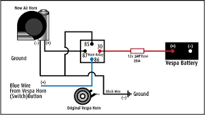wiring horn without relay keju anb12 Hella Air Horn Wiring Diagram Hella 500 Wiring Diagram
