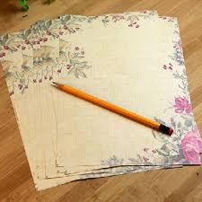 vintage flower sheets 10 sheets beautiful vintage flower letter writing stationery paper