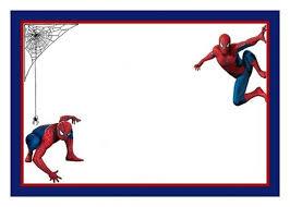 Spiderman Template Spiderman Free Printable Invitation Template Invitations