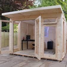 garden office sheds. Adley 3m X Insulated Garden Room Office Sheds