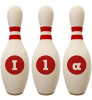 Ila Logo   Name Logo Generator - Candy, Pastel, Lager, Bowling Pin ...