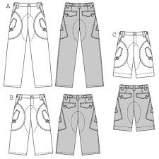 Mens Pants Pattern Simple Burda 48 Mens Trouserspants