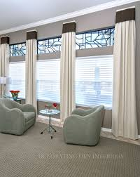 Window Coverings Living Room Custom Window Treatments Designer Curtains Shades And Blinds