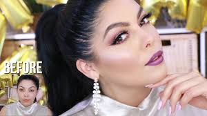 easy new years eve party glam makeup tutorial sccastaneda